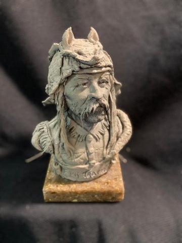 "James Regimbal's Rare and Original Clay Models, ""Fur Trapper"", C 1662"