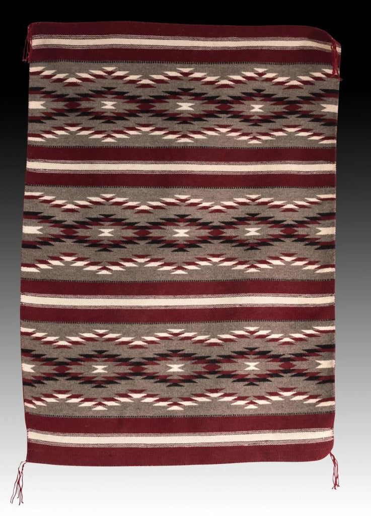 Native American Navajo Hand Woven Wool Rug, Ca 20th, #966 Sold
