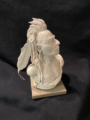 "James Regimbal's, ""Rare and Original Clay Models- ""Warrior"" #C 1620"