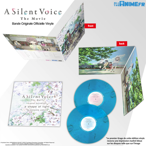 A Silent Voice, la bande originale en edition vinyle collector