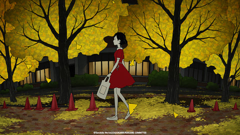 Adaptation animée du rom Night is Short, Walk on Girl par Masaaki YUASA