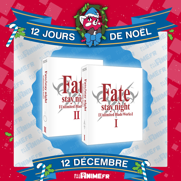[Jour 12] Fate/stay night [Unlimited Blade Works] - BOXES 1 et 2 - Edition Collector DVD