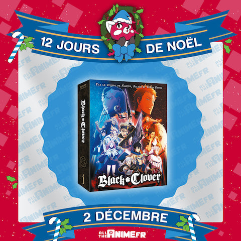 [Jour 2] Black Clover - Edition Collector Saison 1 Box 1/2 DVD