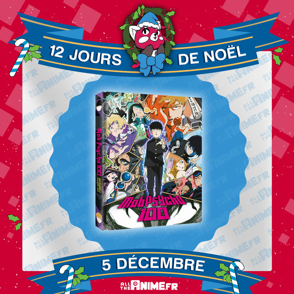 [Jour 5] Mob Psycho 100 - Edition Collector Intégrale Saison 1 Blu-Ray