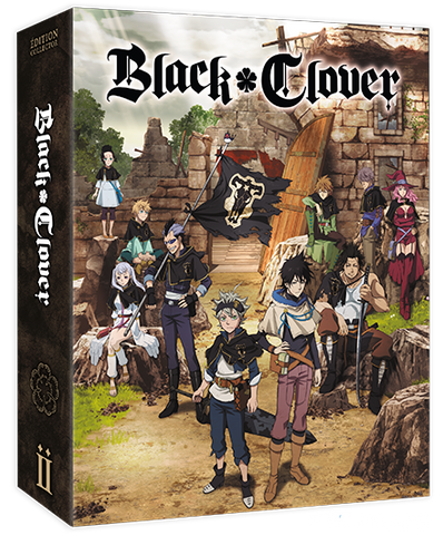 Black Clover - Edition Collector Saison 1 Box 2/2 DVD