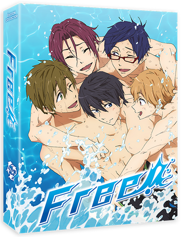 FREE! Saison 1 - Edition Collector Intégrale Blu-Ray