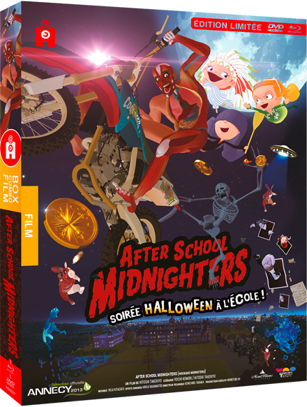 After School Midnighters - édition limitée combo DVD/Blu-Ray