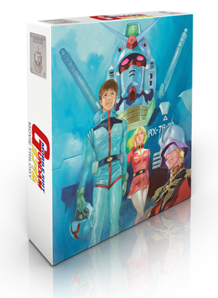 Mobile Suit Gundam Trilogy - Edition Collector Blu-Ray
