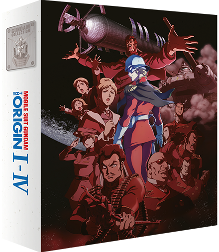 Mobile Suit Gundam The Origin (films I à IV) - Edition Collector Blu-Ray