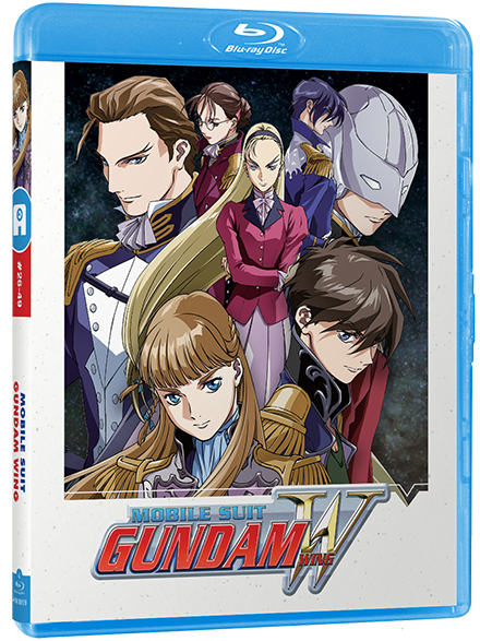 Mobile Suit Gundam WING - Edition Collector Part 2/2 Blu-Ray