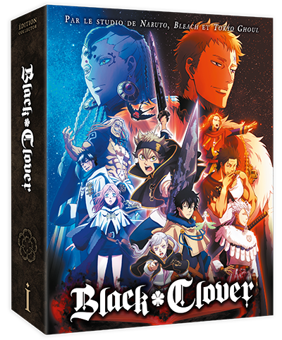 Black Clover - Edition Collector Saison 1 Box 1/2 DVD