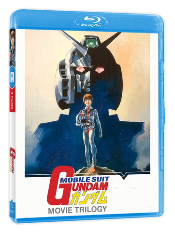 Mobile Suit Gundam Trilogy - 3 films - Edition Blu-Ray