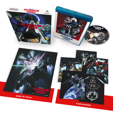Mobile Suit Gundam 0083 (Le Crépuscule de Zeon) - Edition Collector Blu-Ray