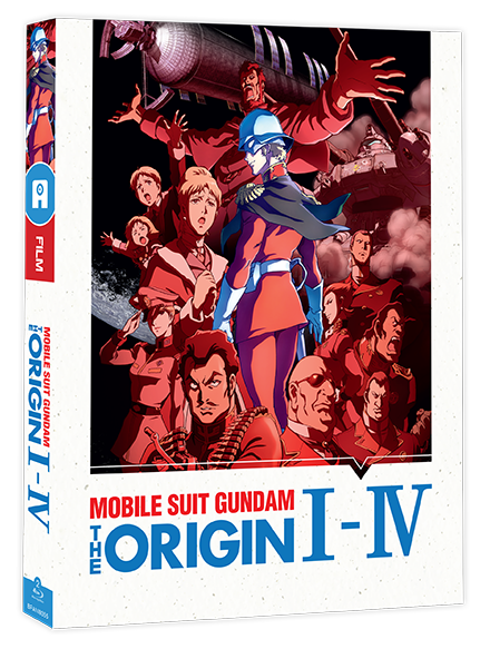 Mobile Suit Gundam The Origin (films I à IV) - Edition Blu-Ray