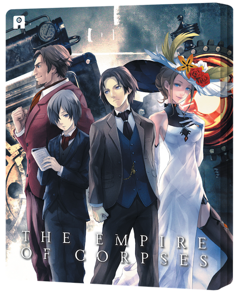 Project Itoh: The Empire of Corpses - Edition Collector Combo Blu-Ray&DVD