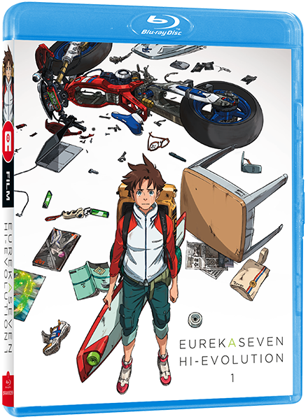 Eureka Seven Hi-Evolution Film 1: RENTON - Edition Blu-Ray