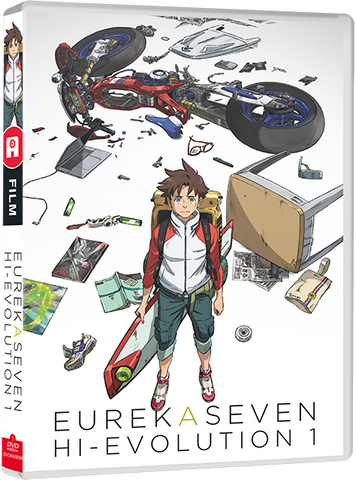 Eureka Seven Hi-Evolution Film 1: RENTON - Edition DVD