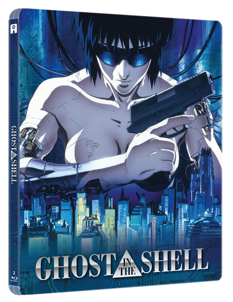 Ghost in the Shell (2 films: original-1995 & 2.0-2008) - Edition Collector Steelbook® Blu-Ray