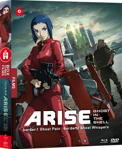 Ghost in the Shell : ARISE - films 1 & 2 - combo Bluray/DVD