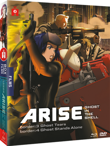 Ghost in the Shell : ARISE - films 3 & 4 - Combo Blu-ray/DVD