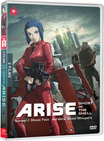 Ghost in the Shell : ARISE - films 1 & 2 - Edition DVD