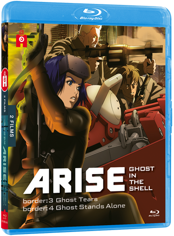 Ghost in the Shell : ARISE - films 3 & 4 - Edition Blu-Ray
