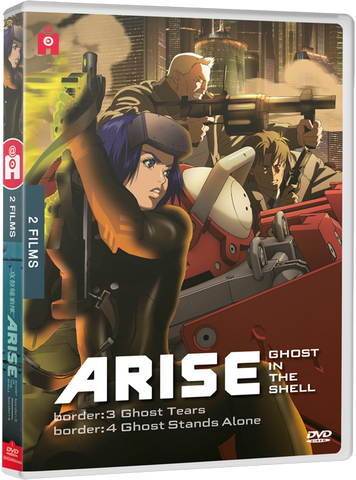 Ghost in the Shell : ARISE - films 3 & 4 - Edition DVD