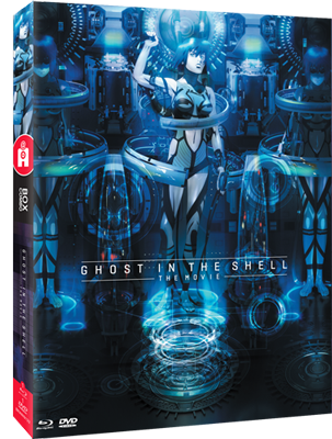 Ghost in the Shell:The Movie - Edition Collector Combo Blu-Ray/DVD
