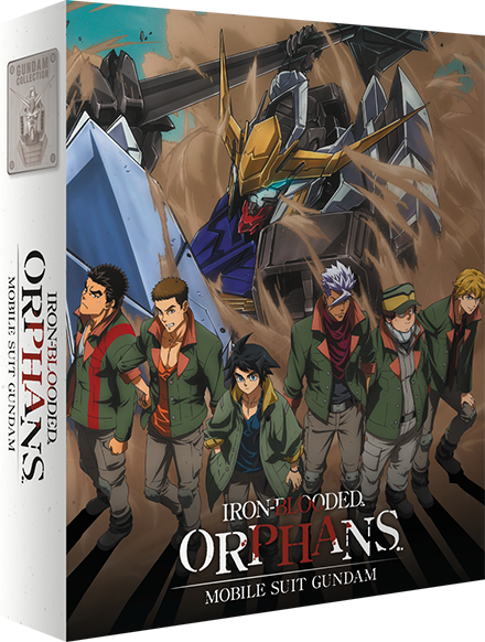 Mobile Suit Gundam: Iron-Blooded Orphans - Edition Collector Part 1/2 Blu-Ray