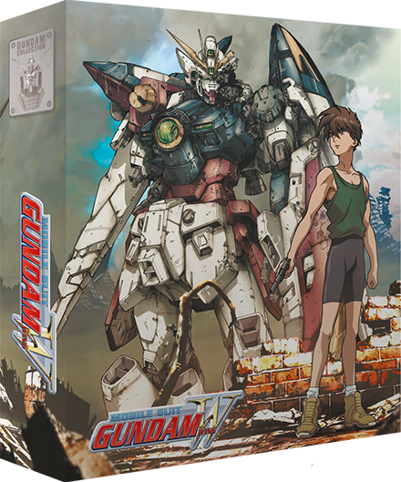 Mobile Suit Gundam WING - Edition Collector Part 1/2 Blu-Ray