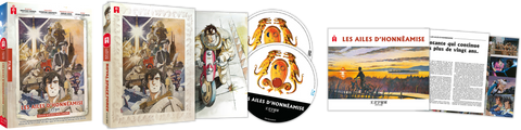 Les Ailes d'Honneâmise - Edition Collector DVD/Blu-ray