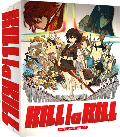Kill la Kill - BOX 2/2 - Edition Combo Bluray/DVD