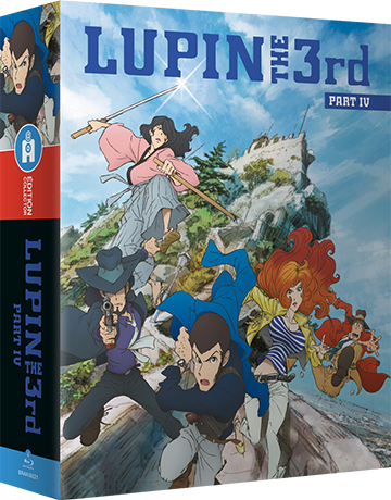 Lupin the IIIrd, Part 4 - L'Aventure Italienne - Édition Collector Intégrale Blu-Ray