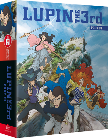 Lupin the IIIrd, Part 4 - L'Aventure Italienne - Édition Collector Intégrale DVD