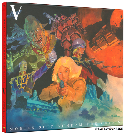 Gundam The Origin V - Edition Collector Blu-ray - Import