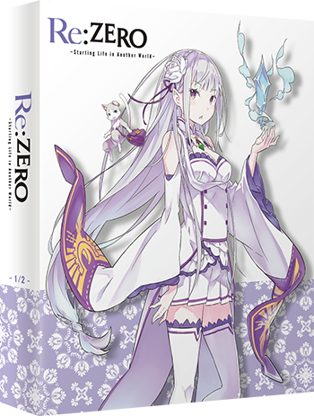 Re:Zero –Starting Life in Another World– Edition Collector Box 1 Blu-Ray