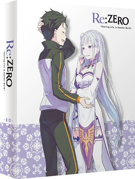 Re:Zero –Starting Life in Another World– Edition Collector Box 2 Blu-Ray