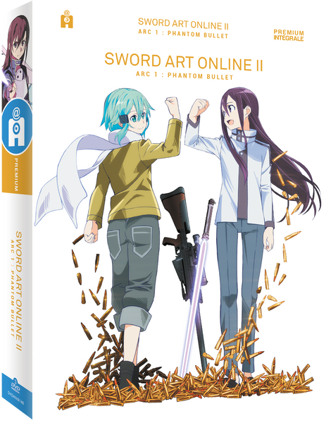 Sword Art Online II - Arc 1 : Phantom Bullet - Edition Premium DVD