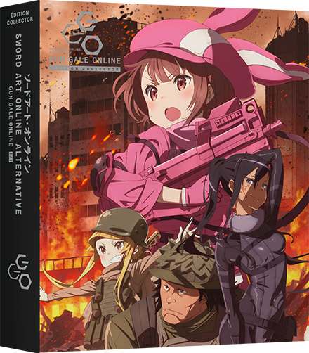 Sword Art Online Alternative Gun Gale Online - Edition Collector Box 2/2 Blu-Ray