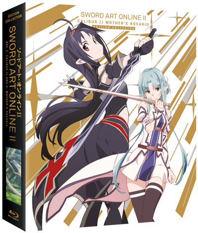 Sword Art Online II - Arc 2&3 : Calibur & Mother's Rosario - Collector Blu-Ray