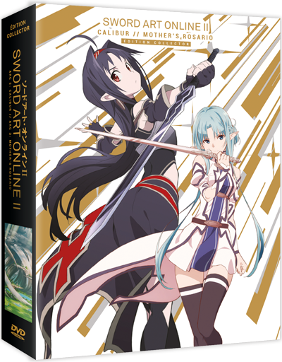 Sword Art Online II - Arc 2&3 : Calibur & Mother's Rosario - Collector DVD