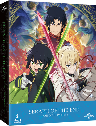 Seraph of the End - Saison 1 Partie 1 - Edition Collector Blu-Ray