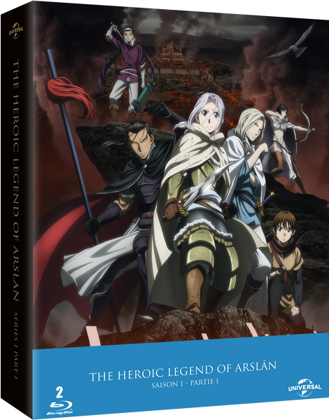 The Heroic Legend of Arslân - Saison 1 Partie 1 - Edition Collector Blu-Ray