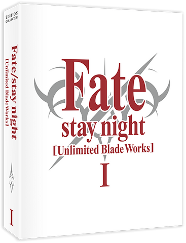 Fate/stay night [Unlimited Blade Works] - Edition Collector Box 1/2 Blu-Ray