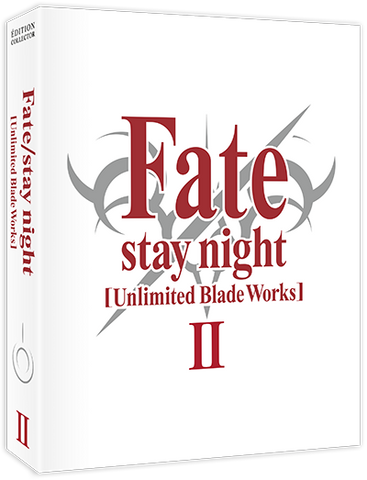 Fate/stay night [Unlimited Blade Works] - Edition Collector Box 2/2 Blu-Ray