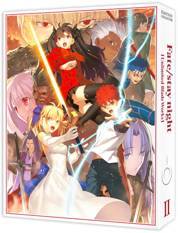 Fate/stay night [Unlimited Blade Works] - Edition Collector Box 2/2 DVD
