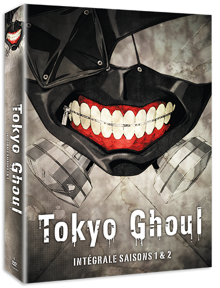 Tokyo Ghoul - Intégrale Saisons 1&2 - Edition DVD