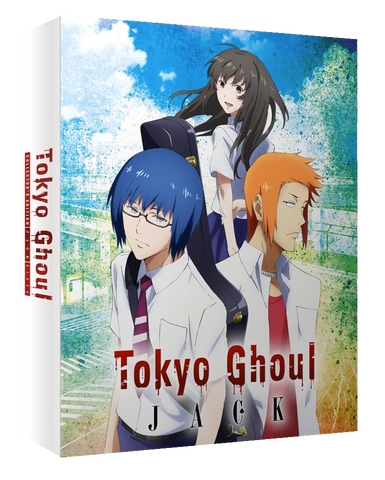 Tokyo Ghoul - Intégrale Saisons 1&2 + 2 OAV - Edition Blu-Ray