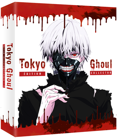Tokyo Ghoul - Intégrale Saison 1 - Collector Blu-Ray