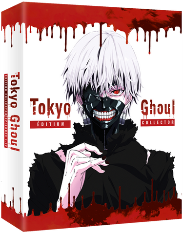 Tokyo Ghoul - Intégrale Saison 1 - Edition Collector DVD